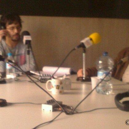 Con el productor y cineasta Gonzalo García Pelayo (12/04/2015)