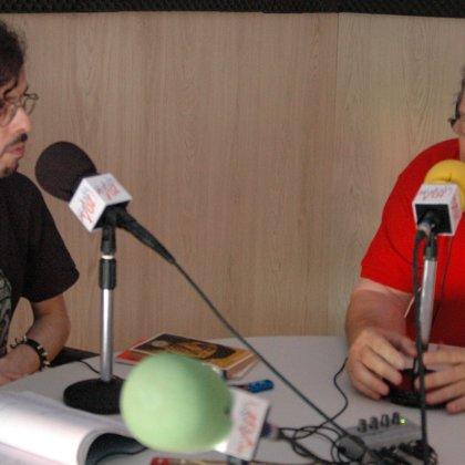 Con el cantaor Manuel Gerena (28/06/2015)