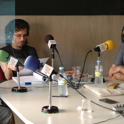Con Gonzalo García Pelayo, el periodista Antonio Gómez y Manuel Gerena (28/06/2015)