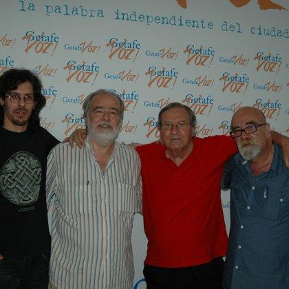 Con Gonzalo García Pelayo, Manuel Gerena y Antonio Gómez (28/06/2015)
